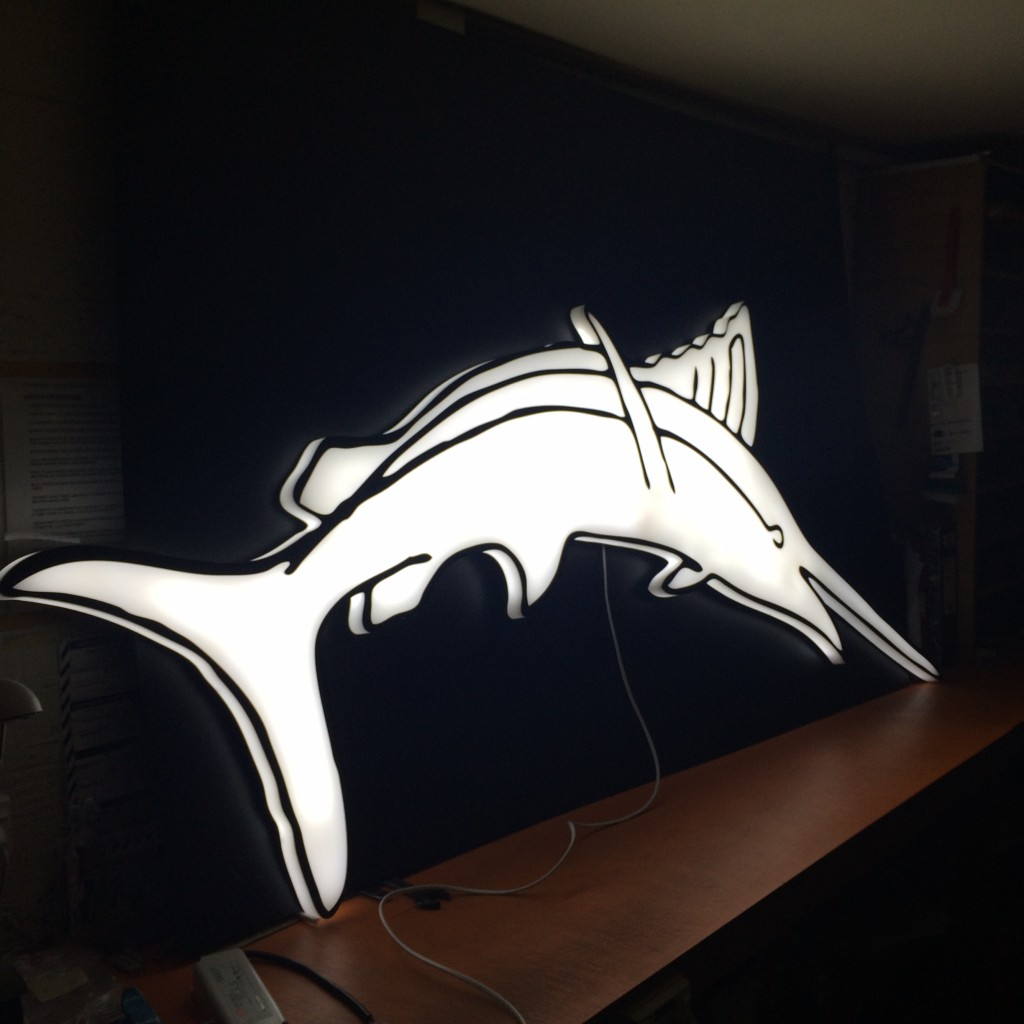 30mm LED block Swordfish 2m high
