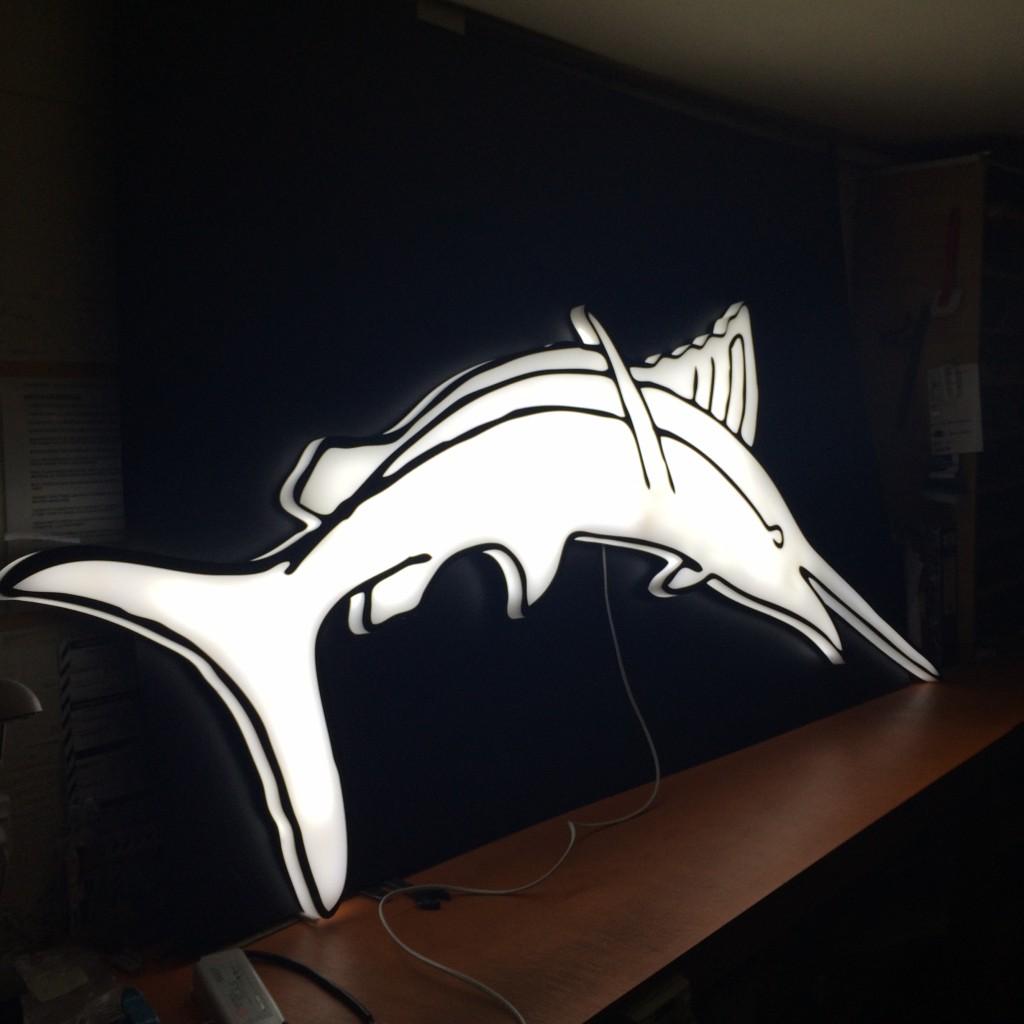 30mm LED block Swordfish 2m high