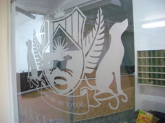 Cut out Vinyl Graphics