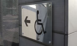 Engraving Sign Toilet