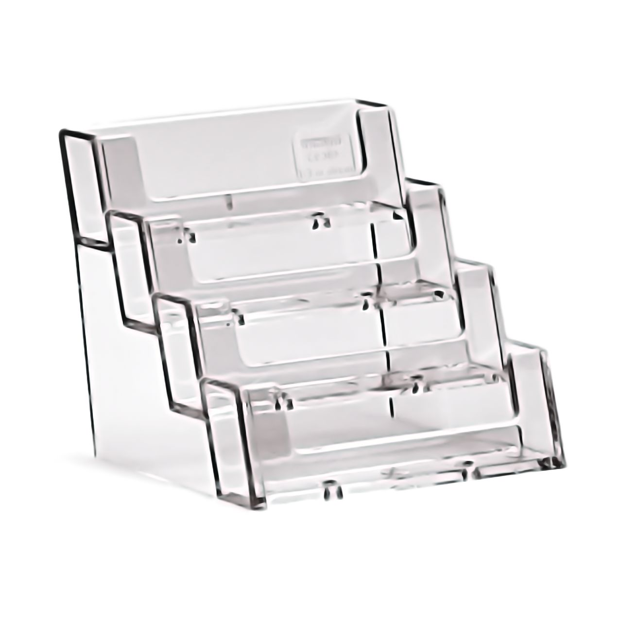 4 Compartment Business Card Holder 4BC93 - Modern Signs