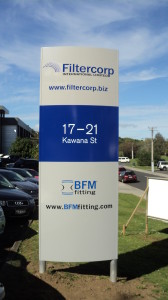 Pylon and Plinth for Filtercorp