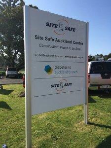 Pylon and Plinth for Site Safe 2