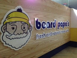 acrylic signage with vinyl on face
