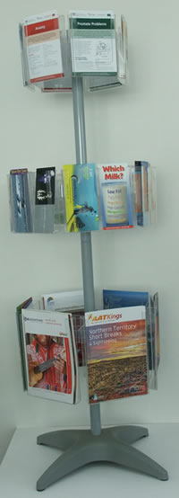 Floor Standing Carousel Displays Modern Signs Signage