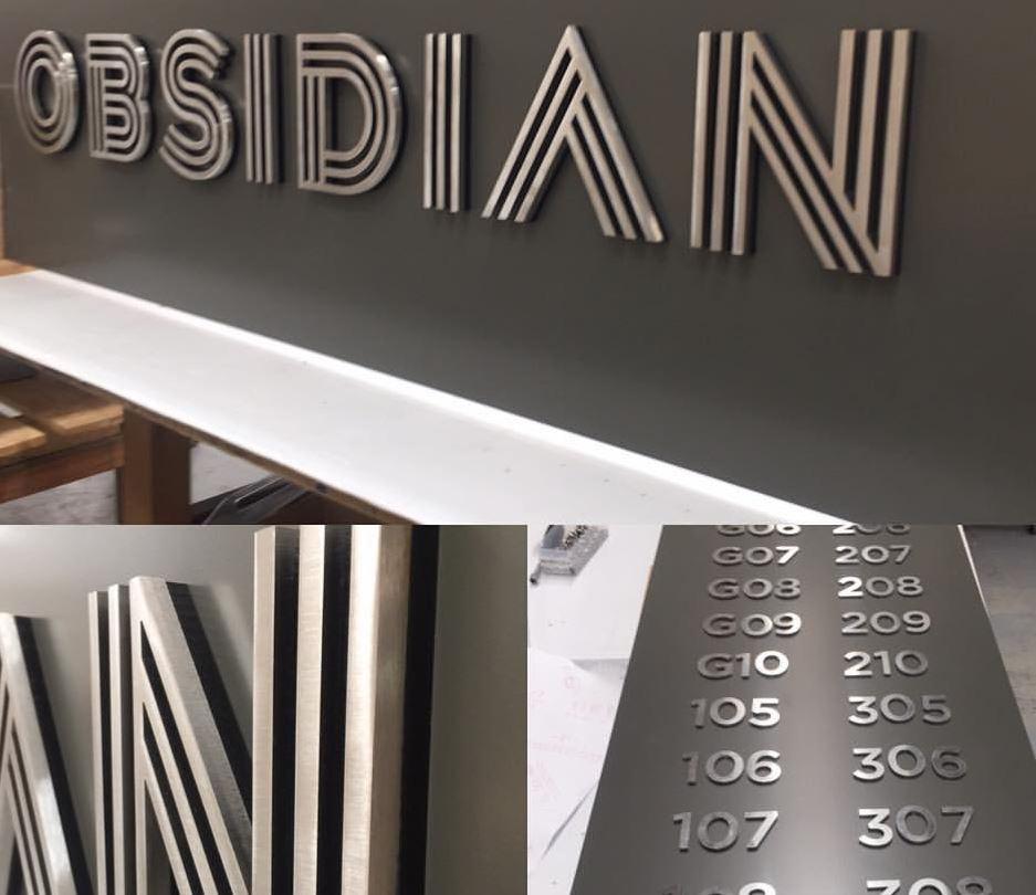 Laser Cut Metal Signs >> Laser Cut Metal Letters Modern Signs